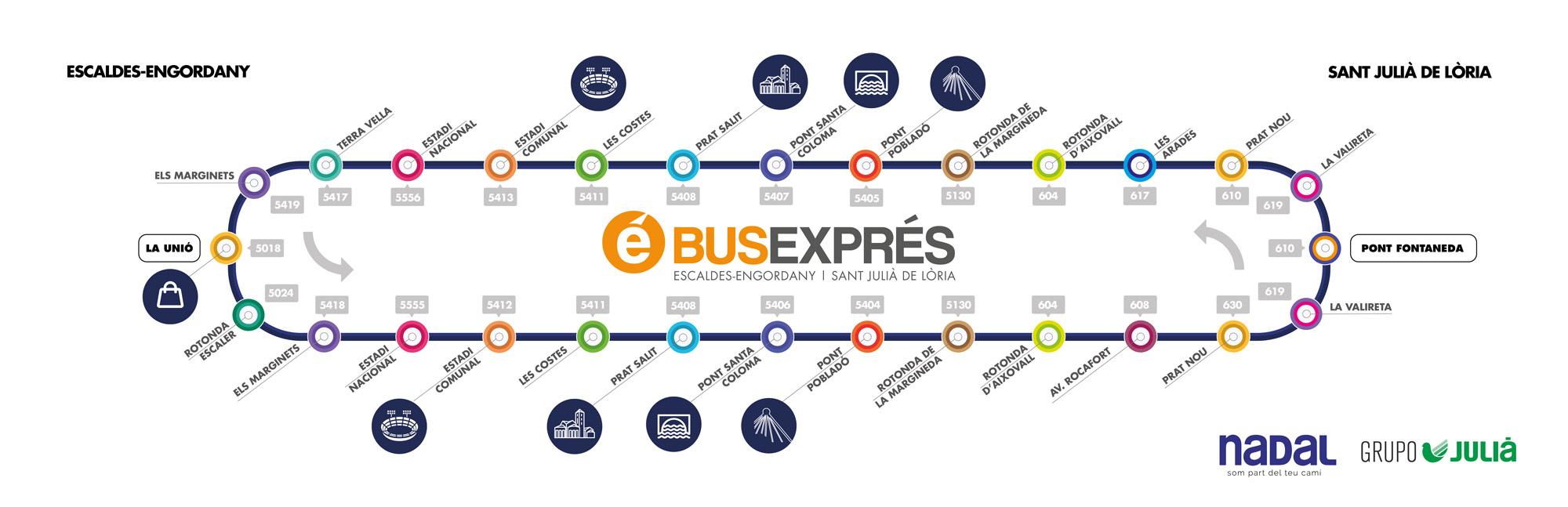 Bus Exprés Andorra
